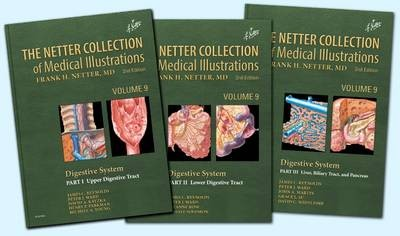 The Netter Collection of Medical Illustrations: Digestive System Package (3 volumes)