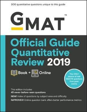GMAT Official Guide 2019 Quantitative Review: Book + Online