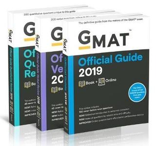 GMAT Official Guide 2019 Bundle
