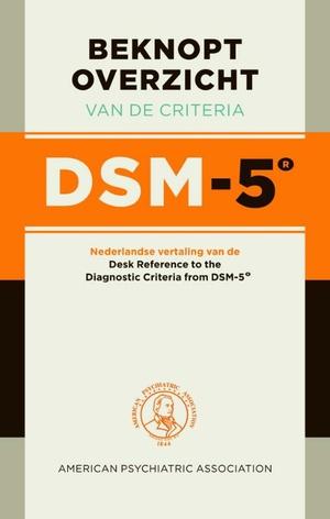 Beknopt overzicht van de criteria DSM-5 (paperback)