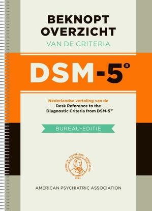 Beknopt overzicht van de criteria van de DSM 5 (ringband